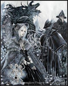 Bloodborne by Hollow-Moon-Art.deviantart.com on @DeviantArt