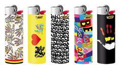 Bic lighters designed by Belgian designer Delphine Boël.