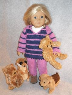Looking for your next project? You're going to love My Animals doll knit pattern…