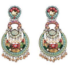 Ayala Bar Amber Alchemilla Earrings (1,015 MYR) ❤ liked on Polyvore featuring jewelry, earrings, ayala bar, amber jewelry, ayala bar jewelry, ayala bar earrings and earrings jewellery