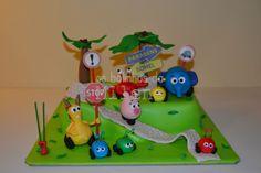 . . : | Cake Pops Portugal | : . . Os Bolinhos da Milene: bolo selva sobre rodas