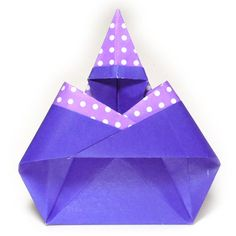 Instructions To Learn How Make Various Kinds Of Origami Halloween Models