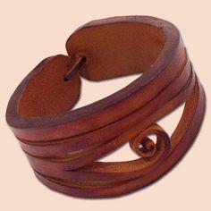 handmade+leather+bracelets | Handmade Leather Bracelet | Joyas