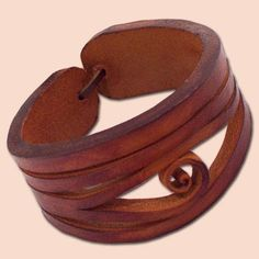 handmade+leather+bracelets | Handmade Leather Bracelet | Joyas