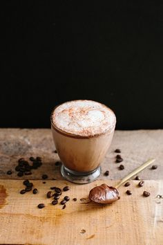 Seasonal Sip: Chocolate Hazelnut Latte - The Honest Company Blog