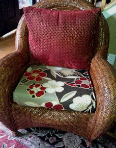 Sweetwater Style: Almost NO-Sew Box Cushions