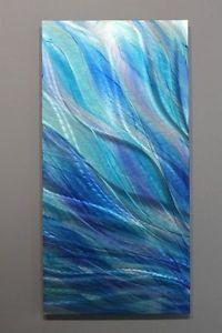 Metal-Abstract-Modern-Painting-Wall-Art-Decor-Sculpture-Glory-by-Jon-Allen