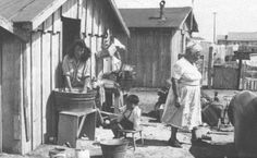 California in the Early 1800s | Migrant housing in Fresno, California. (latinamericanstudies.org)