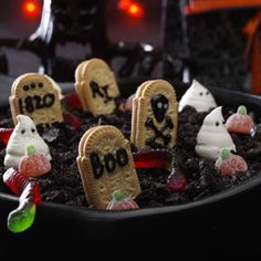 Graveyard Cake Recipe, Bella is desperate to make this for Halloween!