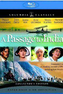 """A Passage to India,"" starring Judy Davis, Victor Baerjee & Peggy Ashcroft."