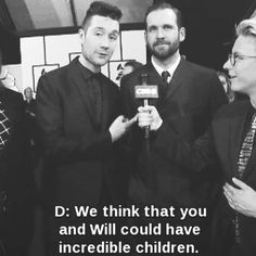 """Their message to Rihanna at the Grammys. I love them. And I love how Will is just there like,"""" Yep."""""""