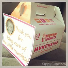 Thank a Teacher with Munchkin Donuts {Teacher Appreciation Week}