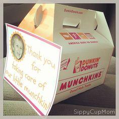 Thank a Teacher with Munchkin Donuts {Teacher Appreciation Week}