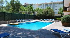 Apartamentos Les Palmeres Platja d'Aro Surrounded by gardens, an outdoor pool and barbecue, this apartment complex is ideal for enjoying the warm sunshine and fantastic coastline of the Costa Brava.