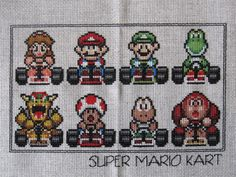 super mario kart, one of the best games ever created!