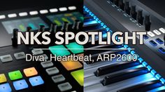 Native Instruments NKS-integrated instruments are consistently being added for Maschine and Komplete Kontrol. Here is a focus on a few amazing products with . Native Instruments, Music Instruments, In A Heartbeat, Spotlight, Plugs, Diva, Hardware, The Unit, Ads