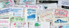 Clothing Labels, Sewing Labels, Woven Labels, Personalized Ribbons, Iron On Labels & Personalized Gift Wrap | Namemaker.com - Name Maker Inc...