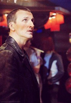 Christopher Eccleston as the ninth Doctor Ninth Doctor, First Doctor, Doctor Who, Christopher Eccleston, Don't Blink, Torchwood, Geronimo, It Goes On, Movies