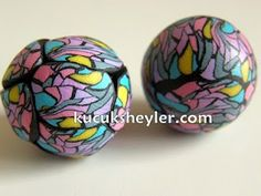 Polymer Clay Beads Tutorial