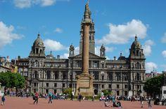 Glasgow City Chambers, Glasgow, Scotland.