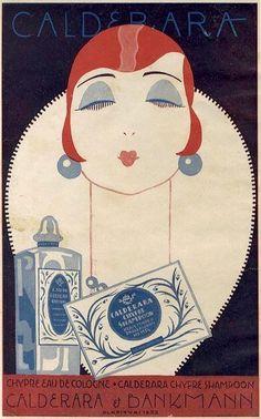 Art Deco Illustration, Illustrations, Graphic Design Illustration, Vintage Advertisements, Vintage Ads, Vintage Posters, Vintage Vogue, Art Nouveau, Girl Face Drawing