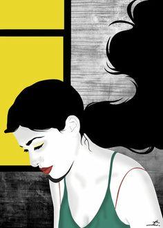 Urban Pop Visions by Aphrodite Ioannou from her illustration portfolios on Dripbook. Aphrodite, Solitude, Urban, Pop, Digital, Illustration, Artwork, Movie Posters, Popular