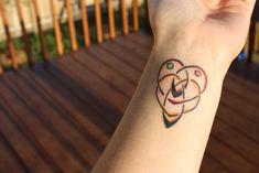 celtic motherhood tattoo designs | Motherhood Knot Tattoo On Wrist