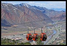 Iron Mountain Tramway to Adventure Park, Glenwood Springs, CO