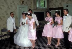 1960's - wedding by Photos from the 1950s, via Flickr