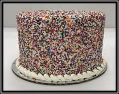 White Buttercream, Buttercream Filling, Frosting, Marble Cake, Holiday Cakes, Round Cakes, Classic Collection, Sprinkles, Chocolate