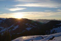 #sundowner #Stimmungsbild #Sonnenuntergang #Blick zum Gabühl #Vital Hotel Post #Dienten #Hochkönig Vital Hotel, Poster, Mountains, Nature, Travel, S Pic, Sunset, Naturaleza, Viajes