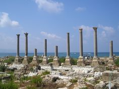 Tyre - remains of stone columns