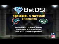 Miami Dolphins vs New York Jets Odds | NFL Football Picks