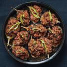 Try the Eggplants Stuffed with Lamb (Karniyarik) Recipe on williams-sonoma.com/
