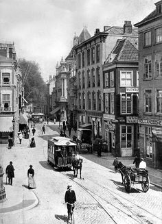 The Netherlands. Horsecar in The Hague, 1902 / Flickr