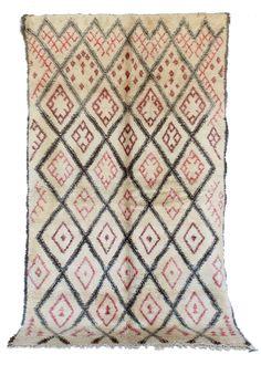 Tribe: Beni Ouarain Code: B83 Size: 6×10'5 Fiber: Wool Pile: Short Condition…
