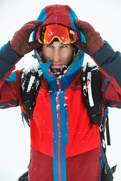 Henrik Windstedt in Peak Performance Heli Gravity Jacket Outdoor Wear, Outdoor Outfit, Mens Ski Wear, Snow Outfit, Peak Performance, Snow Skiing, Sport Outfits, Casual Looks, Casual Wear