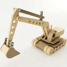 Toy Excavator 3D Model