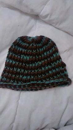 Reversible hat here's one side...