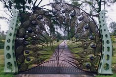 Image detail for -Peacock Gate , Monkton House, Sussex, 1991.
