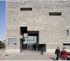 Ningbo Historic Museum. Wang Shu (Amateur Architecture Studio)