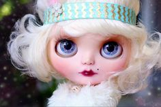 Edith is RESERVED on layaway for L. Please do NOT purchase unless you are L. Thank you!  ----  Payment #2 out of 2. $100.00 down payment already received. Total cost of doll is $450 plus ship.  ----  -Edith is a one of a kind Custom Blythe doll. Edith is my 102nd custom Blythe doll. -A lot of time, thought,effort, and love went into making Edith. -Edith is originally a TBL Blythe doll. -Edith will be packaged securely with care, to be insured she arrives safely. -No clothes or accessories…