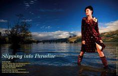 Cordula Schill Styling ESCAPE Travel Magazine -  photo shoot on the South Island, New Zealand