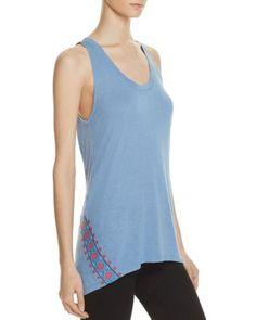 REBECCA MINKOFF Gia Embroidered Tank Top. #rebeccaminkoff #cloth #top