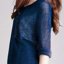 Linen mesh sweater, £19.90 Image by shoplondon.standard.co.uk/
