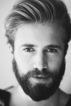 Lovely example of a bearded gent! That's how you do it!