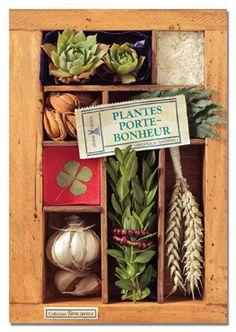 PLANTES PORTE-BONHEUR par Véronique Barrau - Editions Plume de Carotte