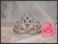Fondant Princess Tiara Crown by ATasteofFinesse on Etsy, $38.00