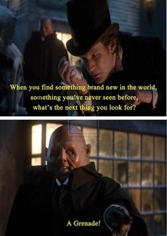 Uh oh. Strax is the one I identify with.