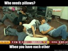 Super Junior's live-by rule.. | allkpop Meme Center ~ haha that's like a bunch of bff girls xd